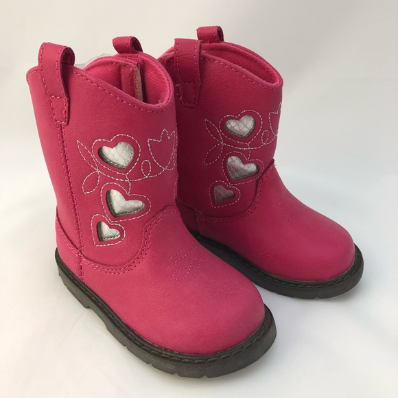 Baby Deer Other - Toddler Cowboy Boots pink sz 5